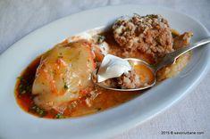 Bulion de rosii - reteta mamei mele | Savori Urbane Romanian Food, Slimming World Recipes, Food And Drink, Meat, Chicken, Cooking, Breakfast, Pork, Fine Dining