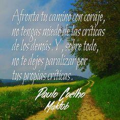 Cita de Coehlo Life Lessons, Me Quotes, Love, Sayings, Words, Retina, Sd, Paulo Coelho, Truths