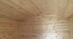 Pine Line your attic to give a rustic style, which could also be painted over for a modern country theme.