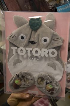 Totoro for my futur baby !!!