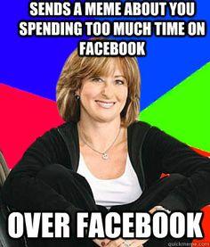 Dont waste time on Facebook.