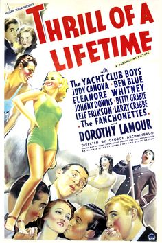 Print Betty Grable Thrill of a Lifetime Old Movies, Vintage Movies, Betty Field, Preston Sturges, Dorothy Lamour, Classic Movie Posters, Best Horror Movies, Hooray For Hollywood, Best Horrors