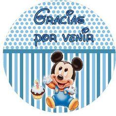 Stickers Mickey Bebe (STK0011)
