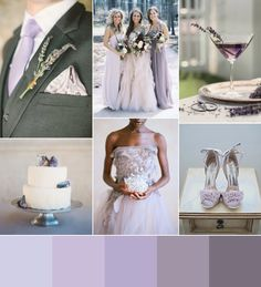 ♡ Lavender #wedding ... For wedding ideas, plus how to organise an entire wedding, within any budget ... https://itunes.apple.com/us/app/the-gold-wedding-planner/id498112599?ls=1=8 ♥ THE GOLD WEDDING PLANNER iPhone App ♥ For more wedding inspiration http://pinterest.com/groomsandbrides/boards/ photo pinned with love & light, to help you plan your wedding easily ♡