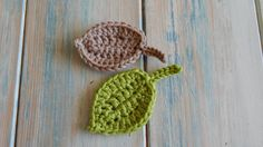 In this week's crochet tutorial I show you how to crochet a small simple leaf. I hope you enjoy and feel inspired! Version 1 mini leaf here: https://youtu.be...