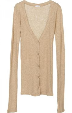 Second Skin Cotton Cardigan - Women Cardigans - American Vintage ...