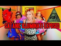 Madonna - Bitch I'm Satanic Illuminati Madonna The  ft. Nicki Minaj EXPOSED