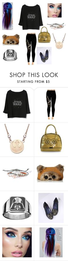"""""""I'm one with the force"""" by emmafayeh ❤ liked on Polyvore featuring Gap, Loungefly, Disney, Irregular Choice and Manic Panic NYC"""