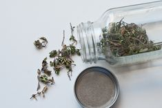 Dry herbs from your garden