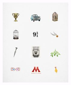 Harry Potter significant objects/milestones #harrypotter