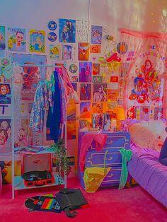 Bedroom Crafts, Cute Bedroom Decor, Room Design Bedroom, Room Ideas Bedroom, Indie Bedroom, Indie Room Decor, Aesthetic Room Decor, Chambre Indie, Aesthetic Indie