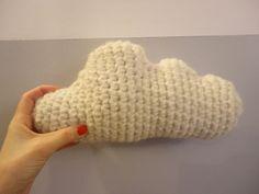 Amigurumi nuage. Un super coussin enfant