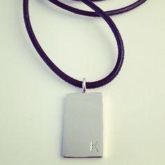 Silverfabriken. Sterling silver necklace Sterling Silver Necklaces, Dog Tags, Dog Tag Necklace, Jewelry, Sterling Necklaces, Jewlery, Bijoux, Schmuck, Jewerly