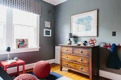 Daring spaces where wallpaper, fabrics or materials push design boundaries ... in a good way.