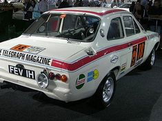 Gartrac motorsport UK - 1970 London - Mexico World Cup Rally Escort Mk1, Ford Escort, S Car, Rally Car, My Dream Car, Dream Cars, Mexico World Cup, Car Guide, Old Race Cars