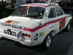 Gartrac motorsport UK - 1970 London - Mexico World Cup Rally Escort Mk1, Ford Escort, S Car, Rally Car, My Dream Car, Dream Cars, Mexico World Cup, Car Guide, Old Race Cars