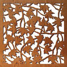 Maple Leaves Rendering