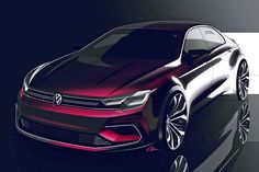 Volkswagen Plans Coupe Concept for Beijing « Form Trends