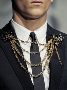 Unique groom accessories ♥ dsquared² spring / summer 2013 me Star Necklace, Heart Pendant Necklace, Heart Earrings, Groom Accessories, Jewelry Accessories, Fashion Accessories, Cheap Jewelry, Jewelry Shop, Jewellery