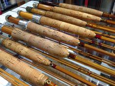 Bamboo fly rods leonard jim payne r l winston thomas for Fishing poles wow