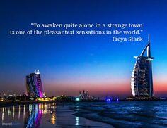 To awaken quite alone...