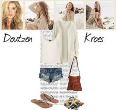 """Doutzen Kroes"" by pantherstyle ❤ liked on Polyvore"