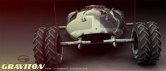 Concept cars and trucks: Graviton vehicle concept by Benjamin LOUIS