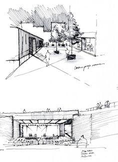 Santiago Beckdorf  Croquis -  architecture