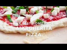 BEST Homemade Margherita Pizza - A Beautiful Plate