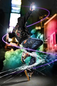 Street Dance by SerenitySteve