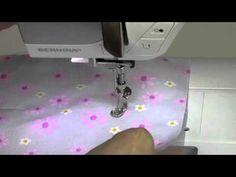 Bernina 350 27 Basting stitch - YouTube