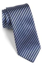 HUGO Stripe Silk Tie