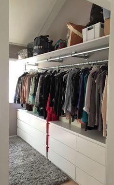 New room closet organization home ideas Closet Bedroom, Bedroom Storage, Bedroom Decor, Bedroom Ideas, Diy Wardrobe, Wardrobe Wall, Wardrobe Ideas, Capsule Wardrobe, Closet Organization