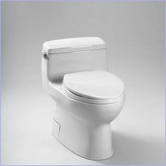 Toto Carolina Elongated 1 Piece Toilet in Bone. Available in 2 additional finishes. #madeinamerica