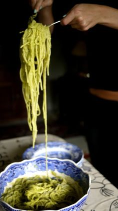 Avocado Spagetti - The Londoner Combining my two fave things- love it!