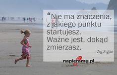 #bieganie #motywacja #cytat Zig Ziglar, Running, Sport, Motivation, Words, Fitness, Quotes, Quotations, Deporte