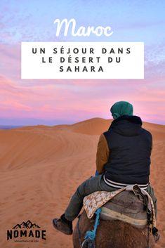 Lorsqu'on a plusieurs jours pour profiter des splendeurs du Maroc, une excursion dans le désert doit faire partie de notre liste d'activités à réaliser à tout prix! #nomademagazine #nomade #voyage #maroc #désert #sahara