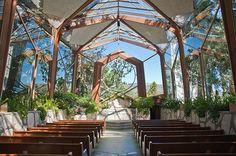 Wayfarer Chapel in Rancho Palos Verdes, CA, Lloyd Wright Jr. #architecture #interiors