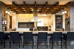 Decor Salteado - Blog de Decoração e Arquitetura : Fogão a lenha - veja lindos modelos em cozinhas modernas e caipiras!