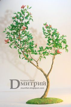 Улыбка весны   biser.info - всё о бисере и бисерном творчестве