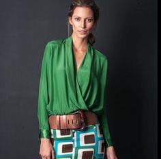 Silvia Tcherassi Blouse Styles, Contemporary Fashion, My Wardrobe, Casual Wear, Dress Skirt, Boho Chic, Creations, Street Style, Style Inspiration