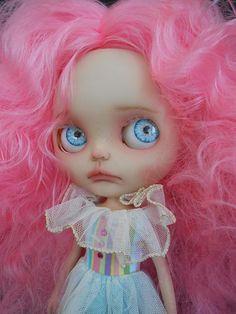 Custom Blythe Doll Faceplates