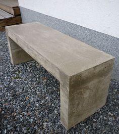 DIY-bench. Betonipenkki.