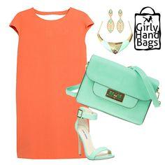 Green Mint Shoulder Bag www.girlyhandbags.co.uk