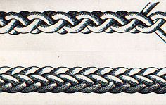 How to Make a 4 or 8 Part Round Braid