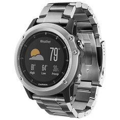 Купить Часы Garmin Fenix 3 Sapphire with Titanium Strap по выгодной цене на  Яндекс.Маркете 09f2af9a6ccea