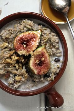 Buckwheat Porridge. Available at the Fusion Cafe!