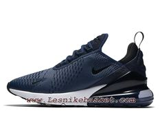 finest selection ba9fe 5f8e4 Running Nike Air Max 270 Midnight Navy Black AH8050 400 Chaussures Nike  2018 Pour Homme Bleu