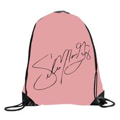 Unisex Gomez Signature Drawstring Sport Bag One Size White -- Awesome products selected by Anna Churchill