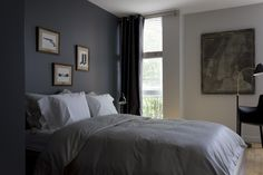 ZWADA home - Griffintown Loft Interior Design Bedroom - Montreal  #modern #eclectic #vintage